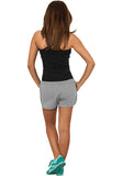 Ladies Light Fleece Hot Pant TB753 Grey