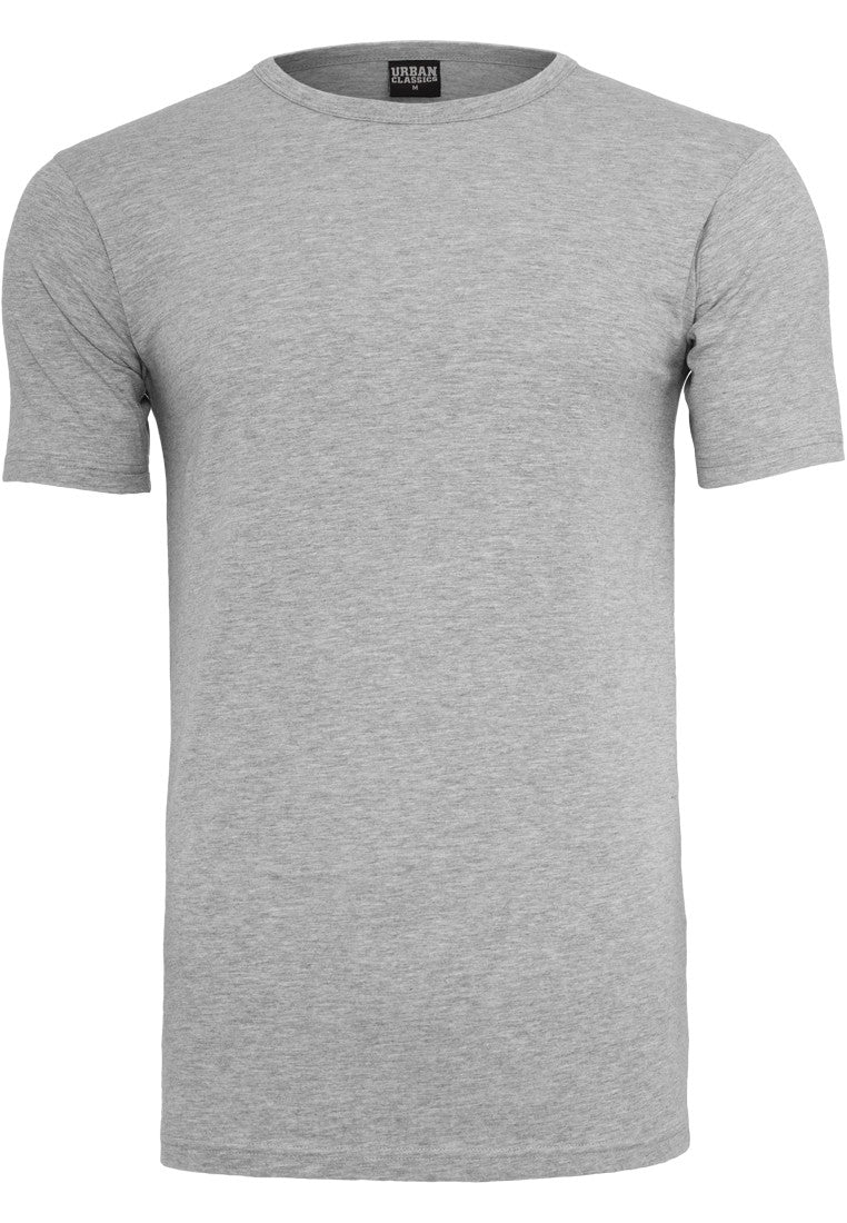 Fitted Stretch Tee TB814 Grey