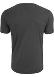 Fitted Stretch Tee Charcoal TB814 Grey