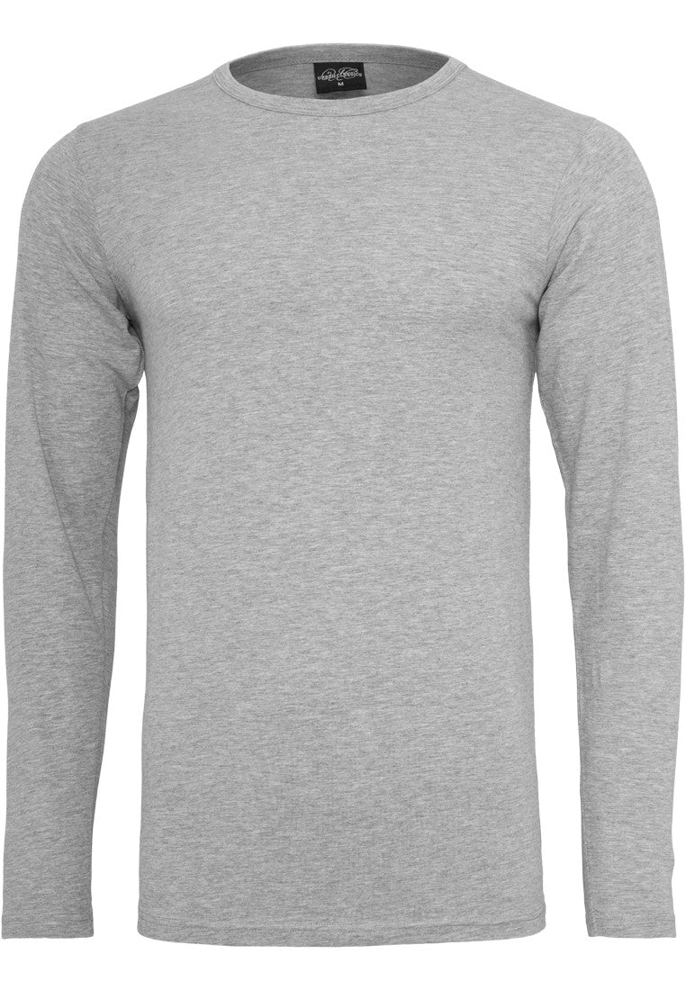 Fitted Stretch L/S Tee TB816 Grey