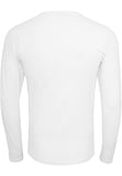 Fitted Stretch L/S Tee TB816 White