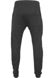 Zip Deep Crotch Sweatpants Charcoal TB850 Grey
