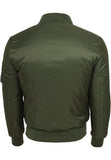 Basic Bomber Jacket Olive TB861 Green
