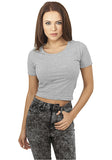 Ladies Cropped Tee TB917 Grey