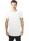 Long Shaped Slub Raglan Tee TB968 White