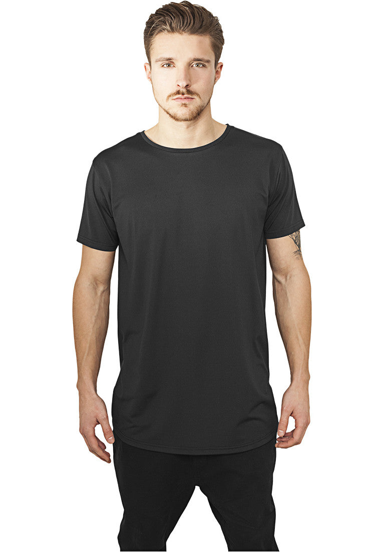 Shaped Neopren Long Tee TB987 Black