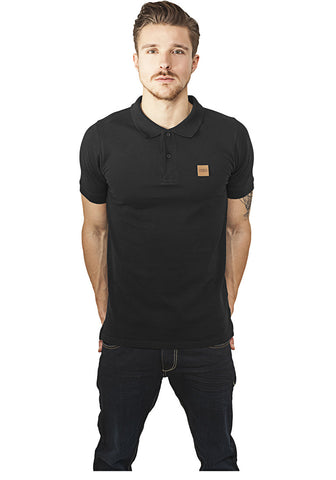 Heavy Polo Pique Shirt TB995 Black