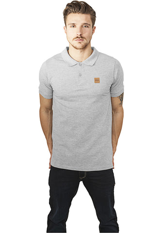 Heavy Polo Pique Shirt TB995 Grey