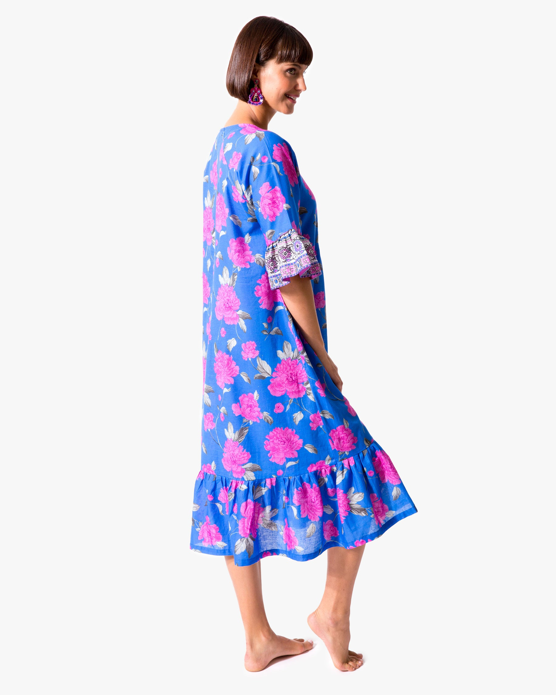 Peony Yoke Dress