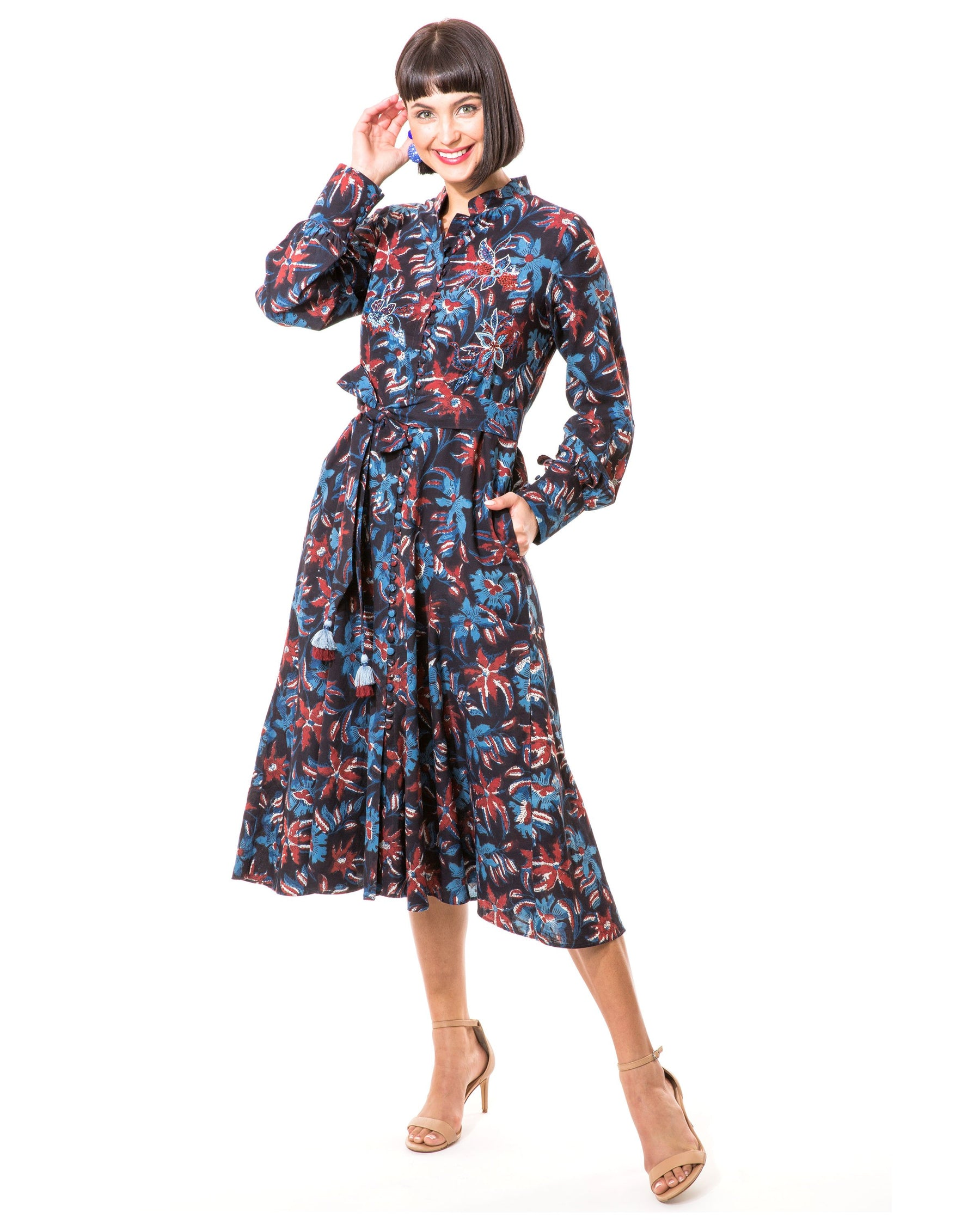 Katya Shirtdress