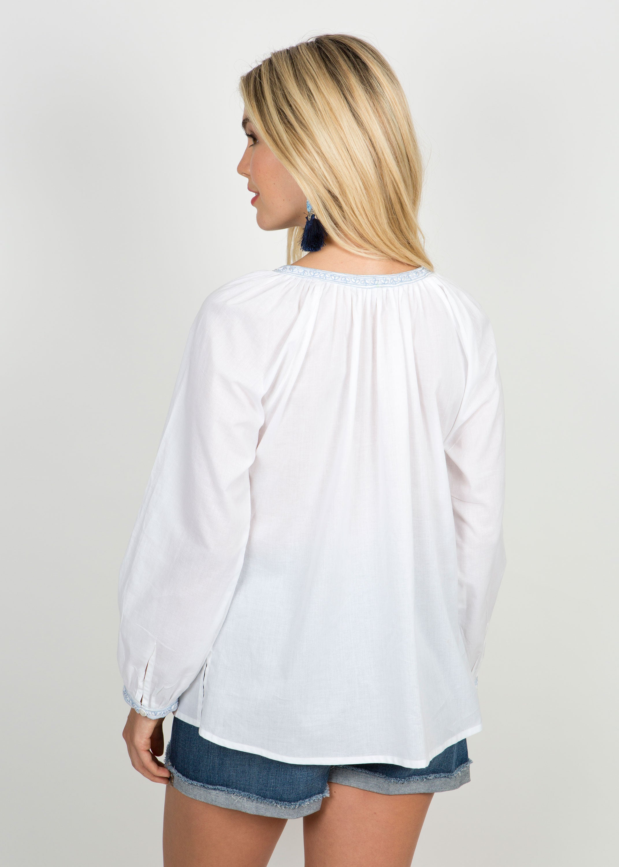 Brooke Peasant Top