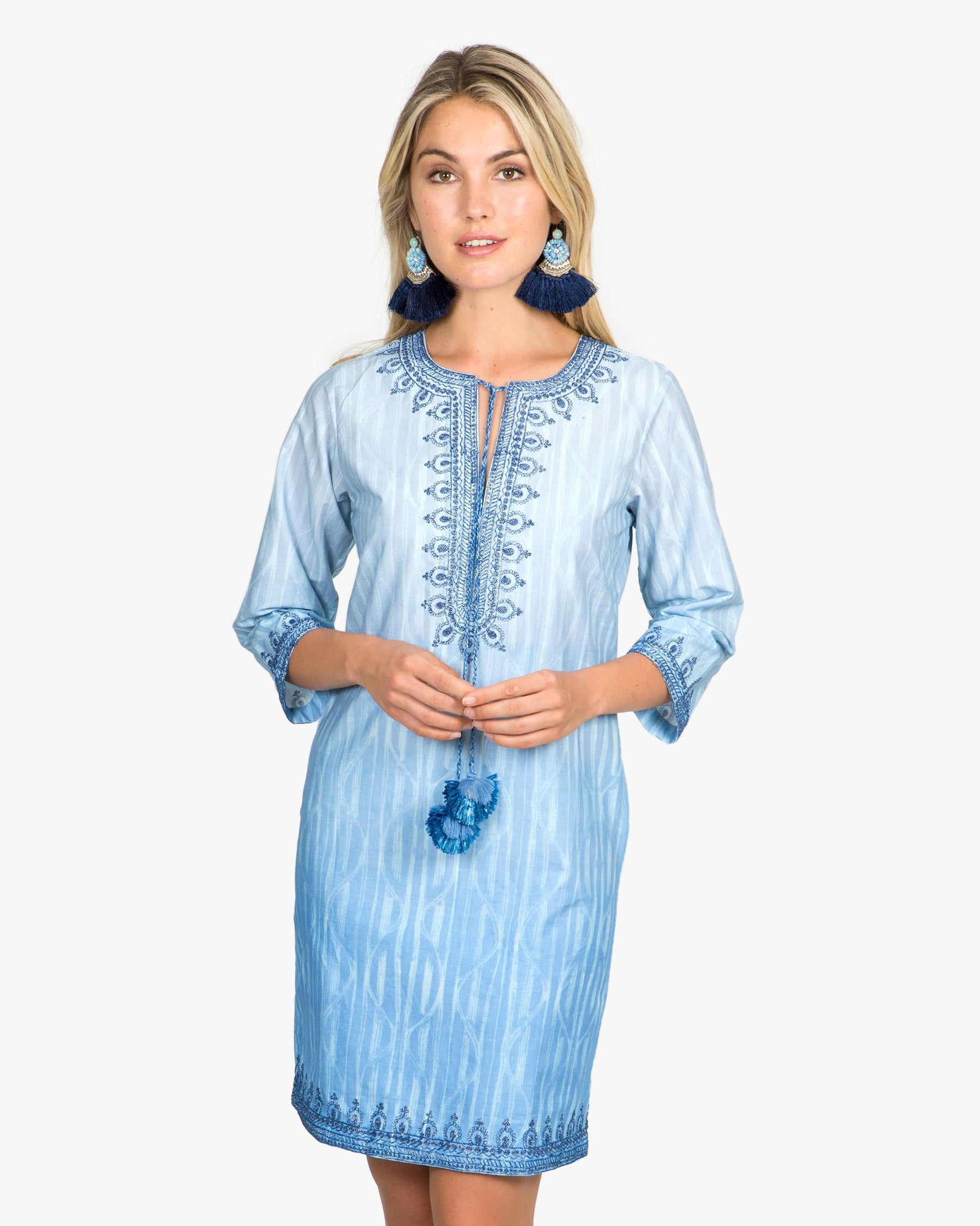 Heather 3/4 Sleeve Dress