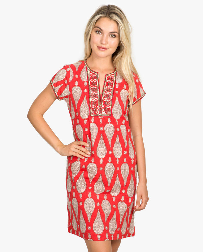 Jaya Cap Sleeve Dress
