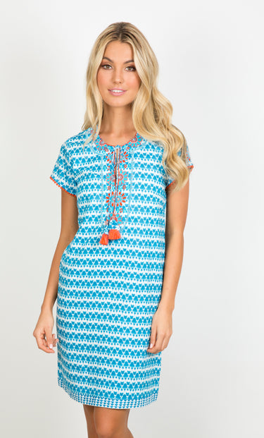 Portia Cap Sleeve Dress