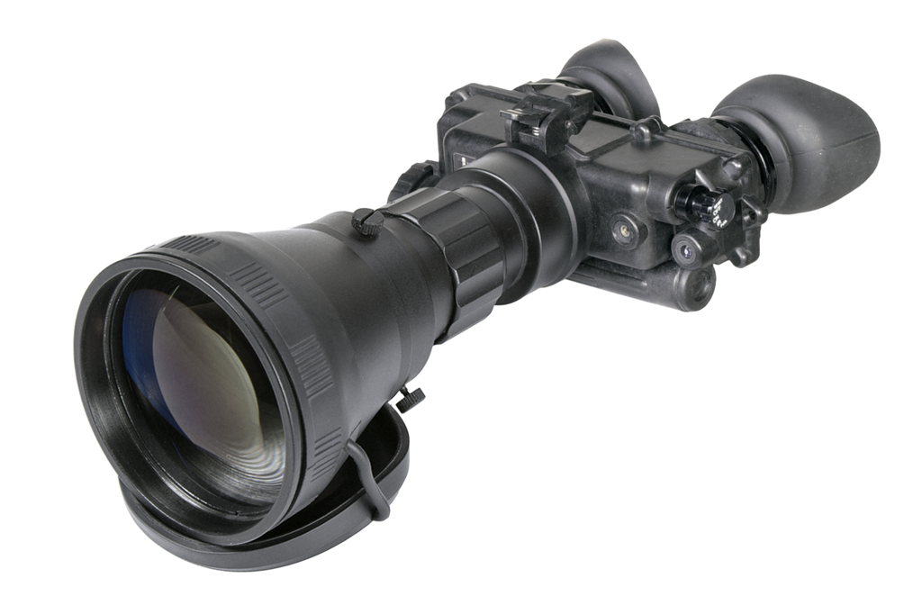 "PRG Defense FoxBat-LE6 NW Mil Spec Night Vision Bi-Ocular 5.6x Gen 2+ ""White Phosphor"" with Sioux850 Long-Range IR"
