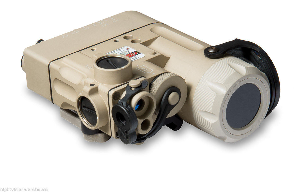 Steiner DBAL-D2 Dual Beam Aiming Laser Green w/IR LED Illuminator Class 1 (9002) Tan - Night Vision Universe