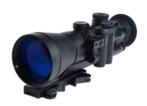 NVD D-740-YG MilSpec ITT Gated Pinnacle Night Vision Sight Scope 4X Gen 3 - Night Vision Universe
