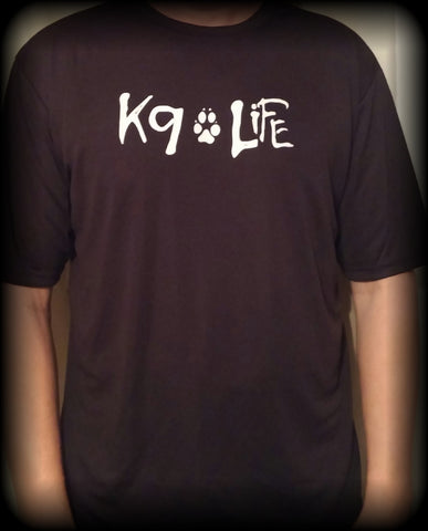 Men's Cool Wicking K9 Life T-Shirt