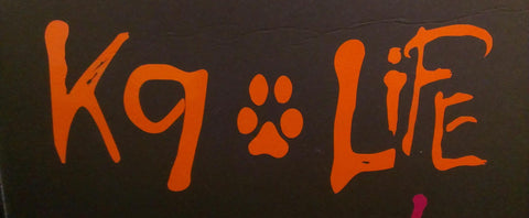 z Decal - Orange K9 Life
