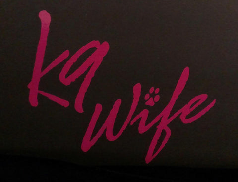 z Decal - Pink K9 Wife