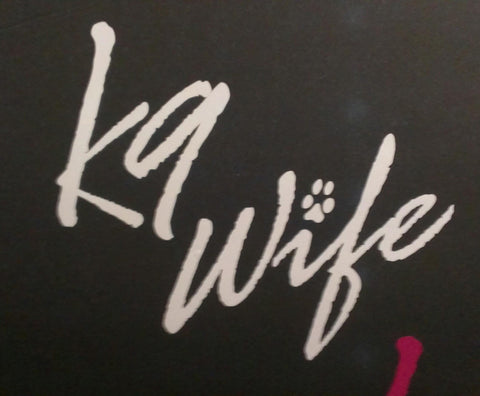 z Decal - White K9 Wife