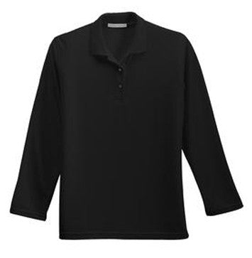 Port Authority® Ladies Long Sleeve Silk Touch™ Polo (available in 7 colors)