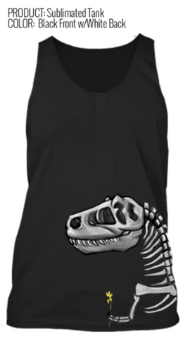 Sketch to Print- Fossil Sublimated Tank