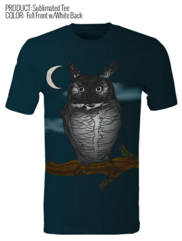Sketch to Print- Midnight Owl