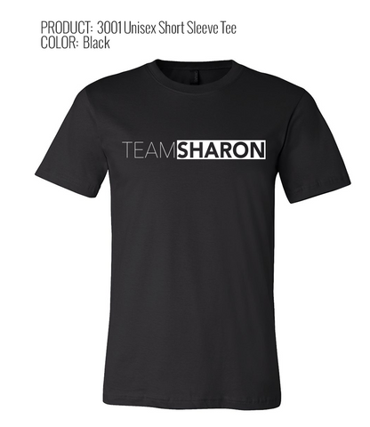 #TEAMSHARON Bella + Canvas 3001 Unisex Short Sleeve (available in 2 colorways)