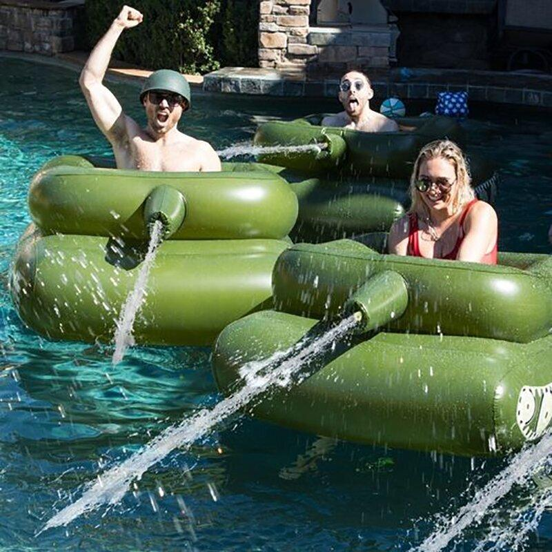 Pool Punisher Inflatable Tank Pool Float Pool Toys Pool Inflatables Sw -  Mirakly