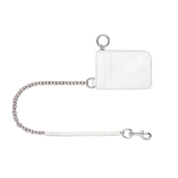 Chain Wallet - White