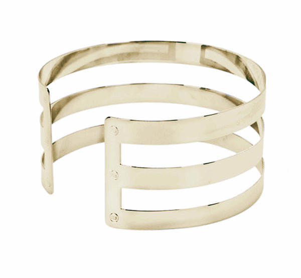 Triple Stripe Neck Cuff