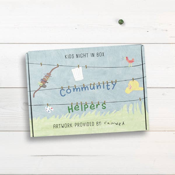 Kids Night In Box - Community Helpers