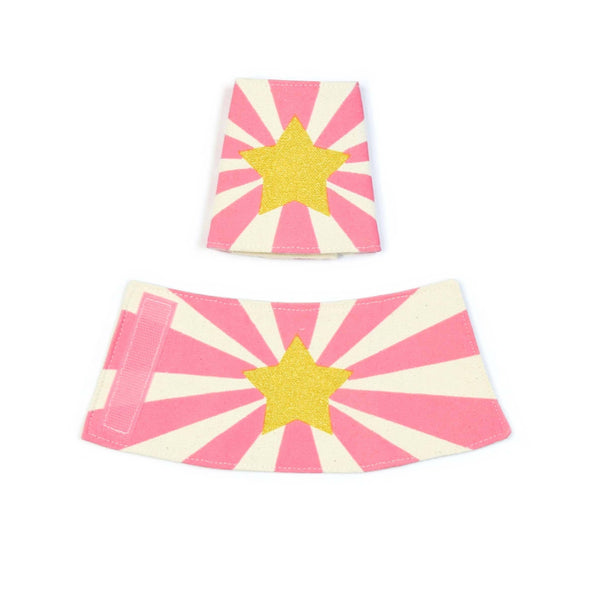 Lovelane Designs - Pink Hero Cuff Pair