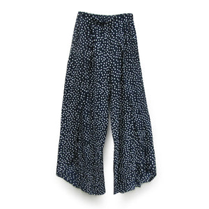 Split Side Polka Dot Pant