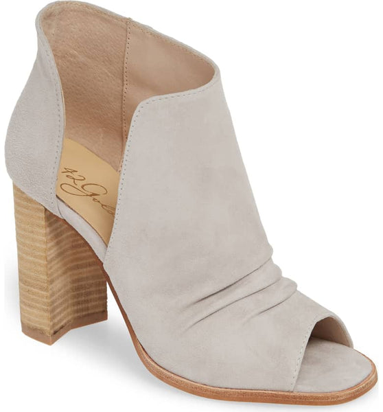 Loyalty Kid Suede Open Toe Bootie