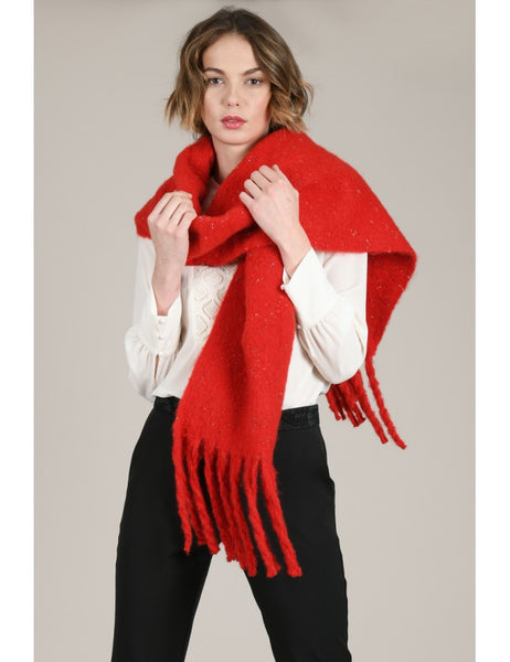 Maxi Scarf - Red