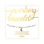 Wishing Bracelet with Charm