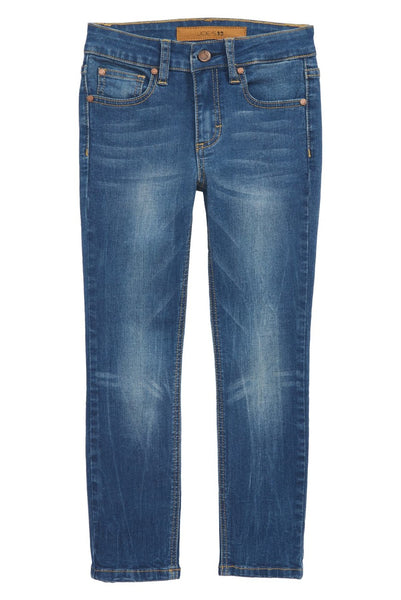 Brixton Straight Leg Stretch Jeans - Cort Wash