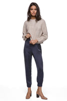 Jaslene Joggers - Washed Navy