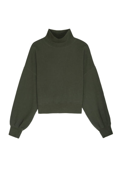 The Blaire Sweatshirt in Olive