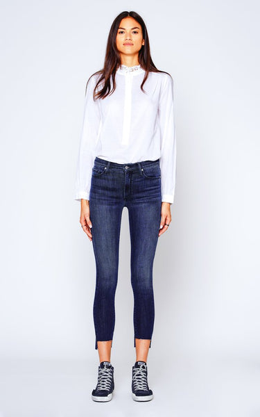 Miranda Off Step High Rise Skinny - Wasted Time