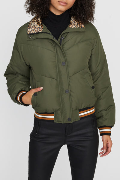 Alpine Puffer in Aspen Green