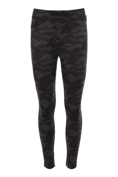 Runway Legging - Black Camo