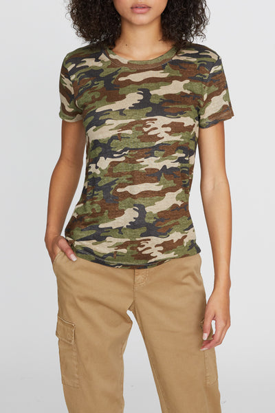 The Perfect Tee in Camo