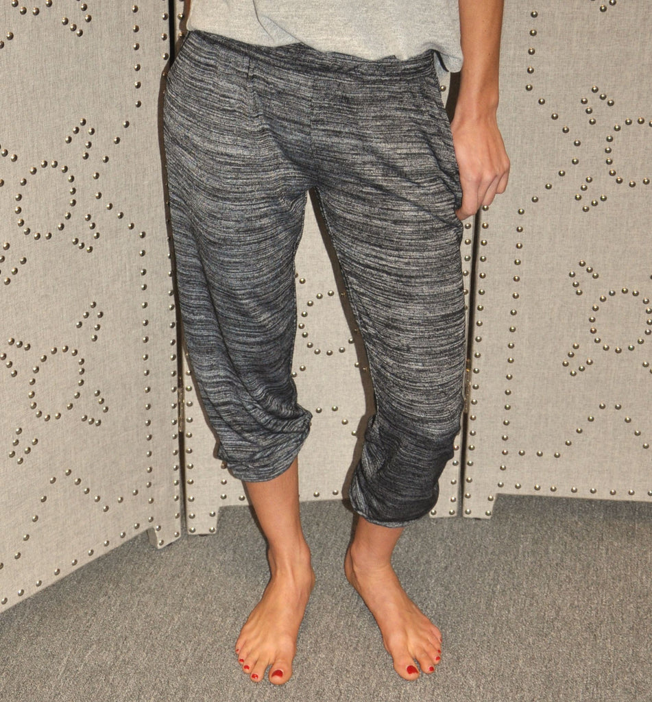 RD Style Marled Knit Jogger Pant