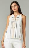 Cruz Smocked Embroidered Top