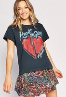 Blondie Heart of Glass Tour Tee - Vintage Black