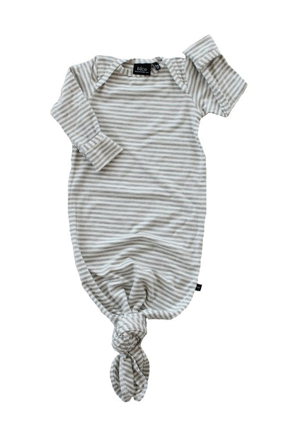 Knotted Sleeper - Light Grey Stripe