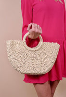 Kimmi Straw Bag